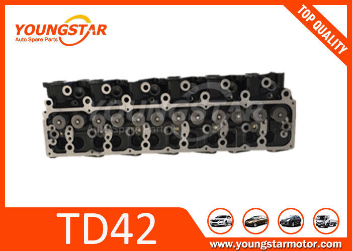 Automotive Complete Cylinder Head Assembly For Nissan Patrol TD42 TD42T
